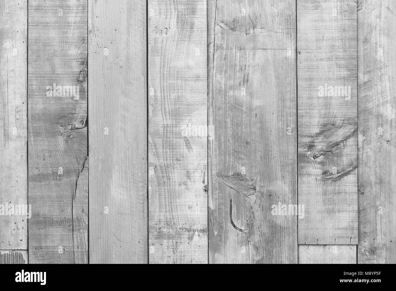 White wooden table texture for background - Stock Image