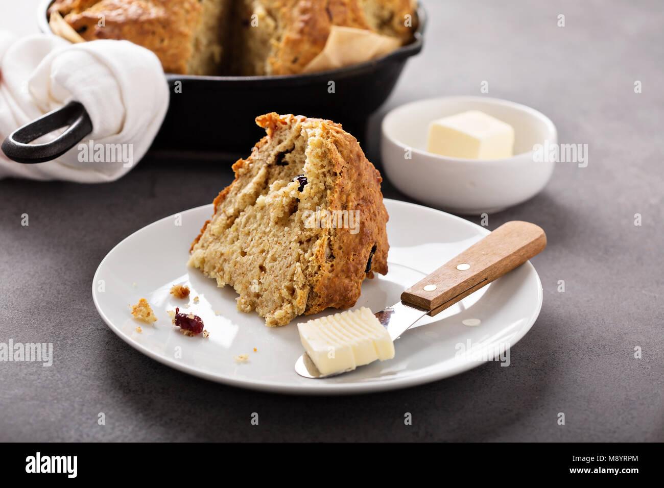 Irish soda bread - Stock Image