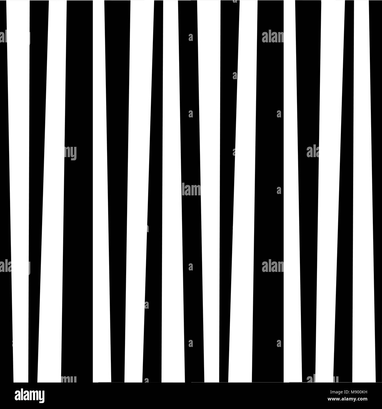 Abstract vertical striped pattern. Monochrome zebra black and white print. Background for wallpaper, web page, surface - Stock Image