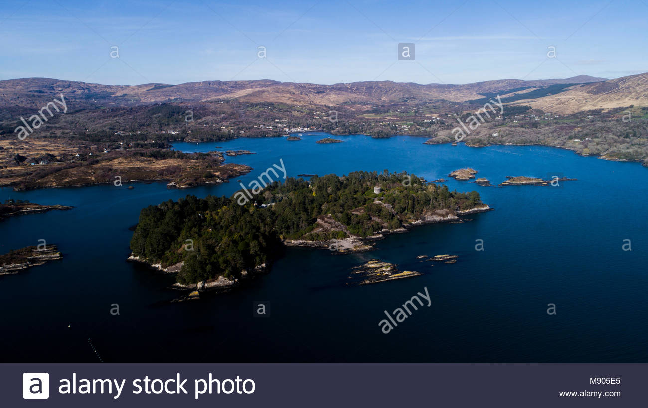 Garnish Island Glengarriff Stock Photos & Garnish Island Glengarriff ...