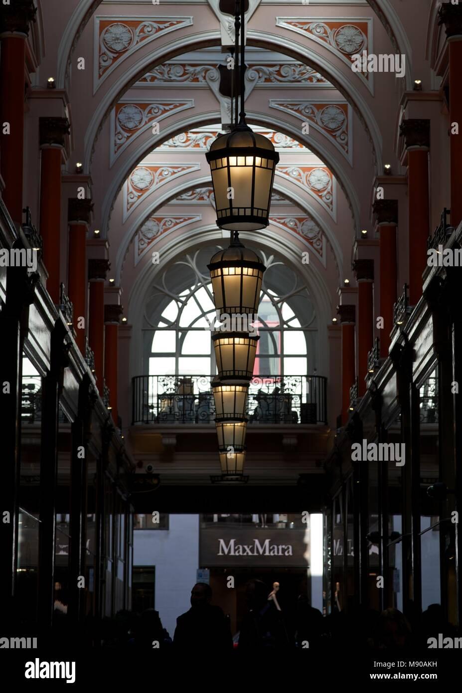 Albermarle arcade, mayfair london - Stock Image