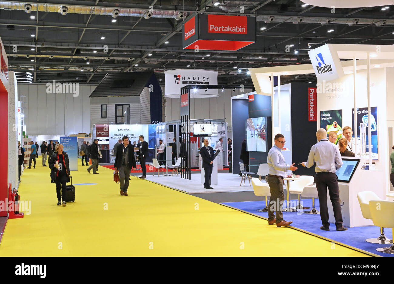 Exhibition Stand Builders West Midlands : Exhibition stands stock photos