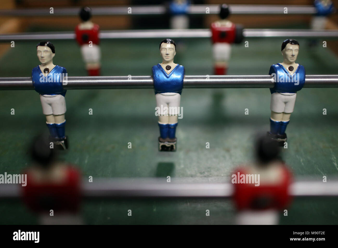 Table football players. - Stock Image