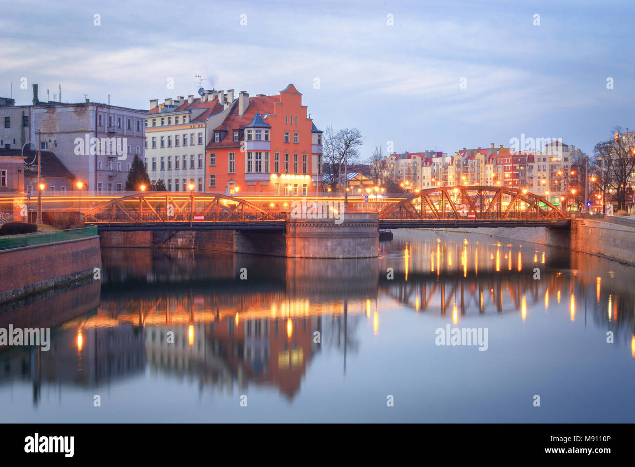 Wroclaw, Poland- View of the old town Ostrow Tumski Stock Photo
