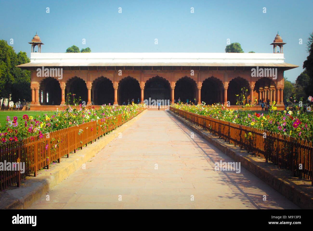 Red fort, New Delhi, India. - Stock Image