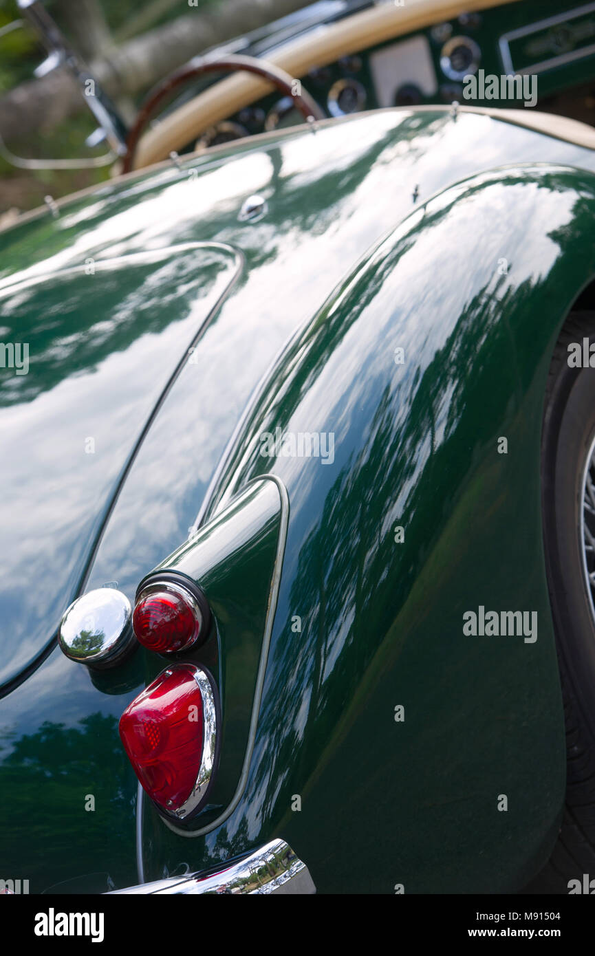 Old Collector Car Transport - Stock Image