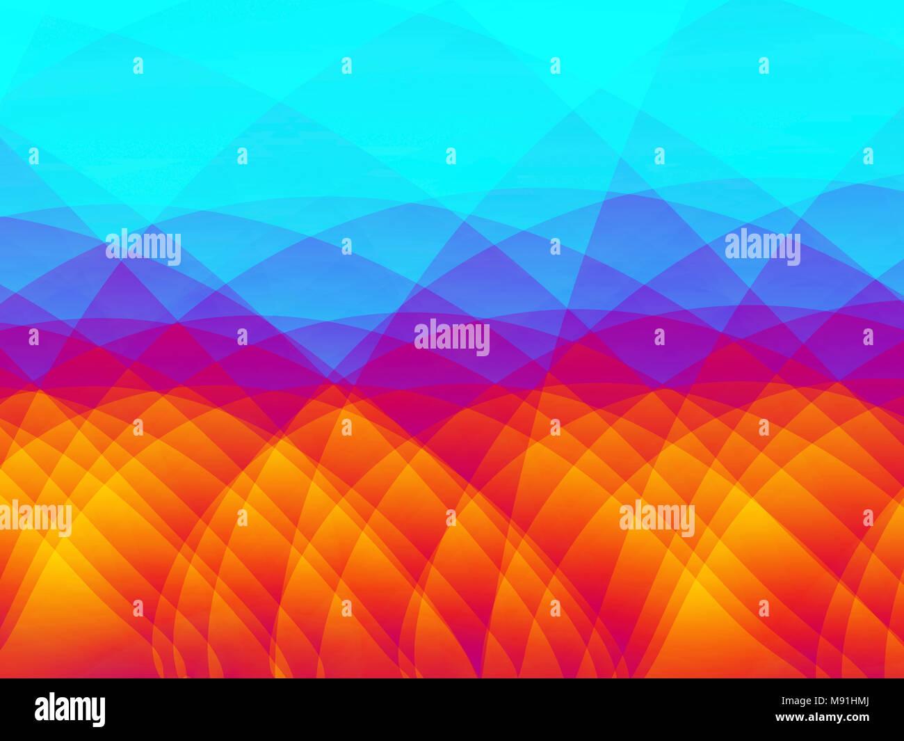 Multicoloured Background - Stock Image