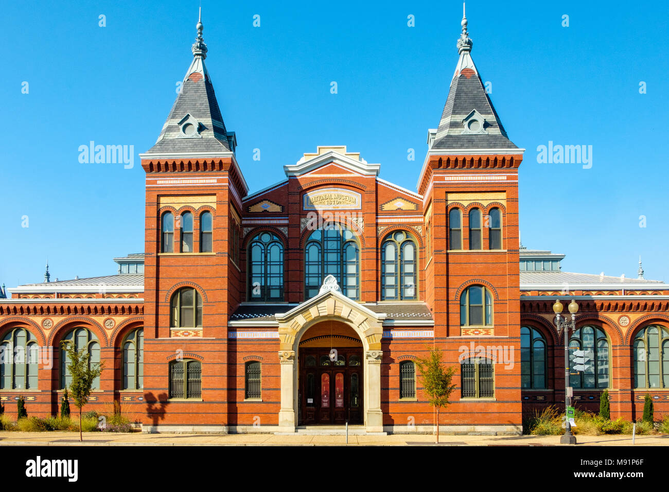 Arts and Industries Building, Smithsonian Museum, 900 Jefferson Drive SW, Washington DC - Stock Image