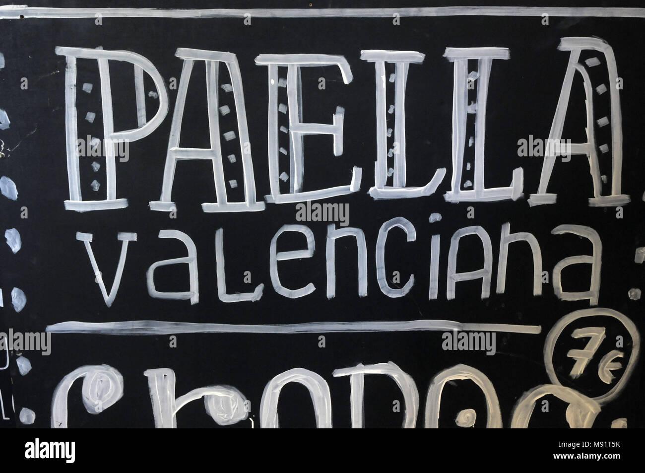 valencia blackboard