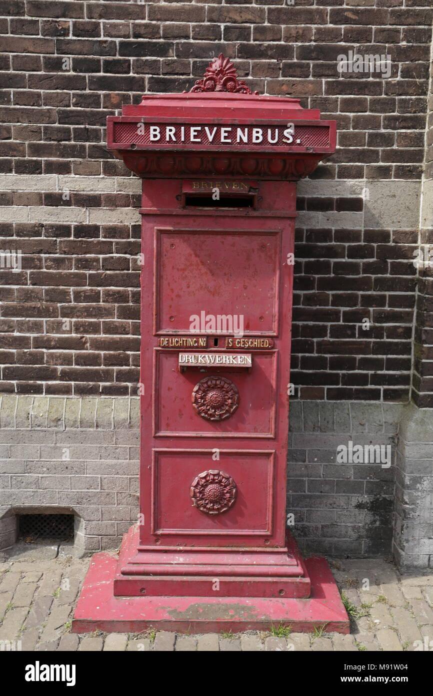 Old Dutch Mailbox Stock Photo Alamy