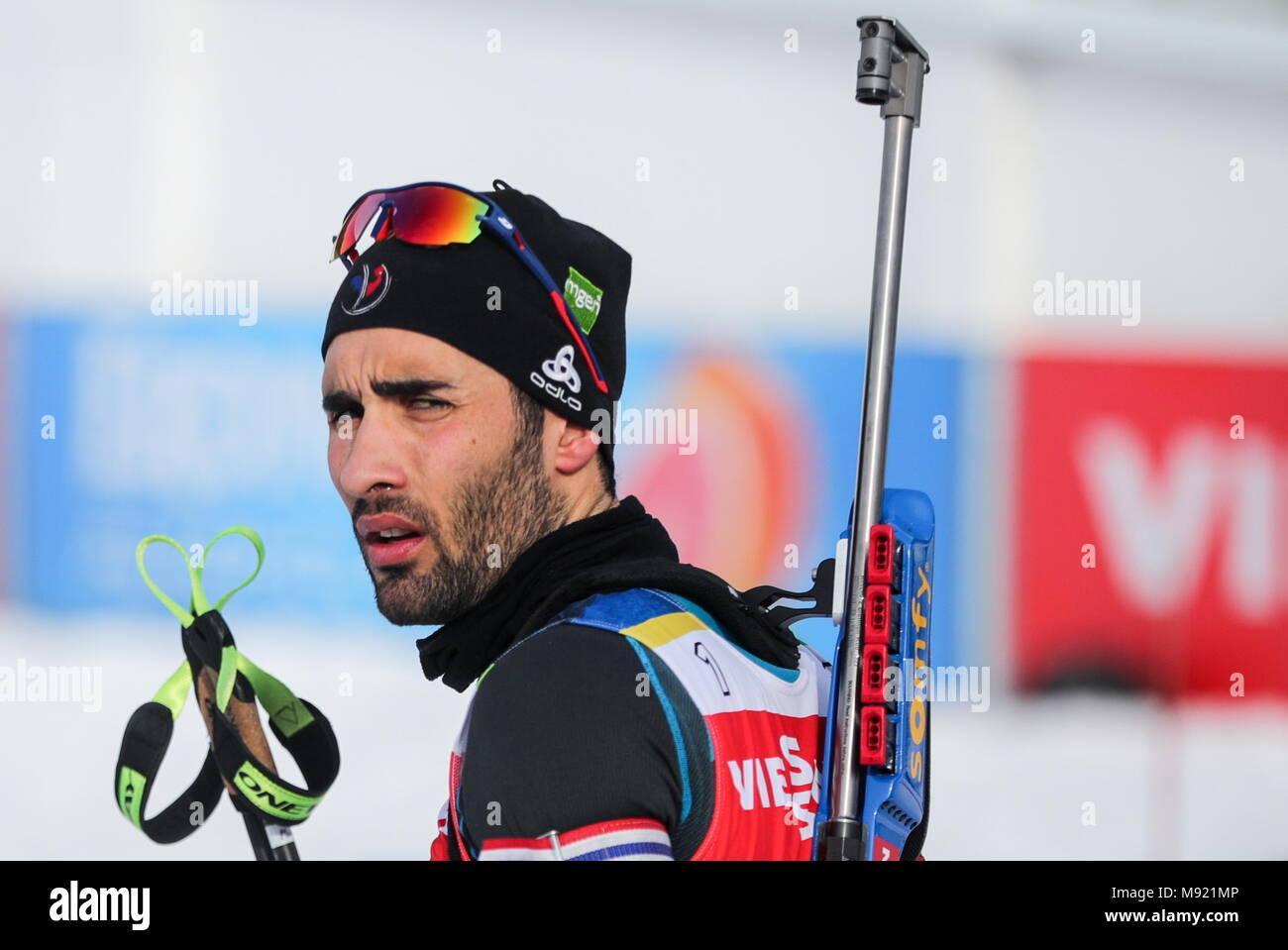 Biathlon in 2017-2018: World Cup 63