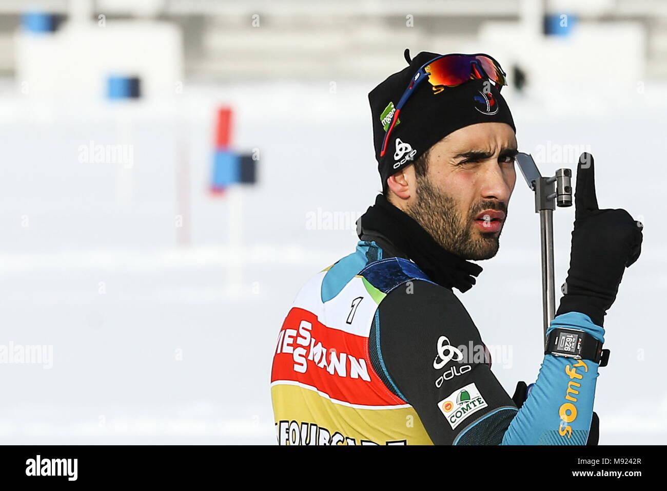 Biathlon in 2017-2018: World Cup 97