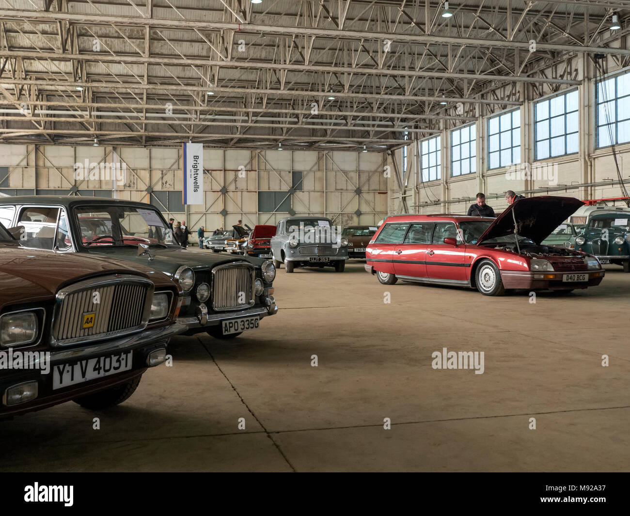 Bicester, UK. 21st March, 2018. The Affordable Classics Car sale ...