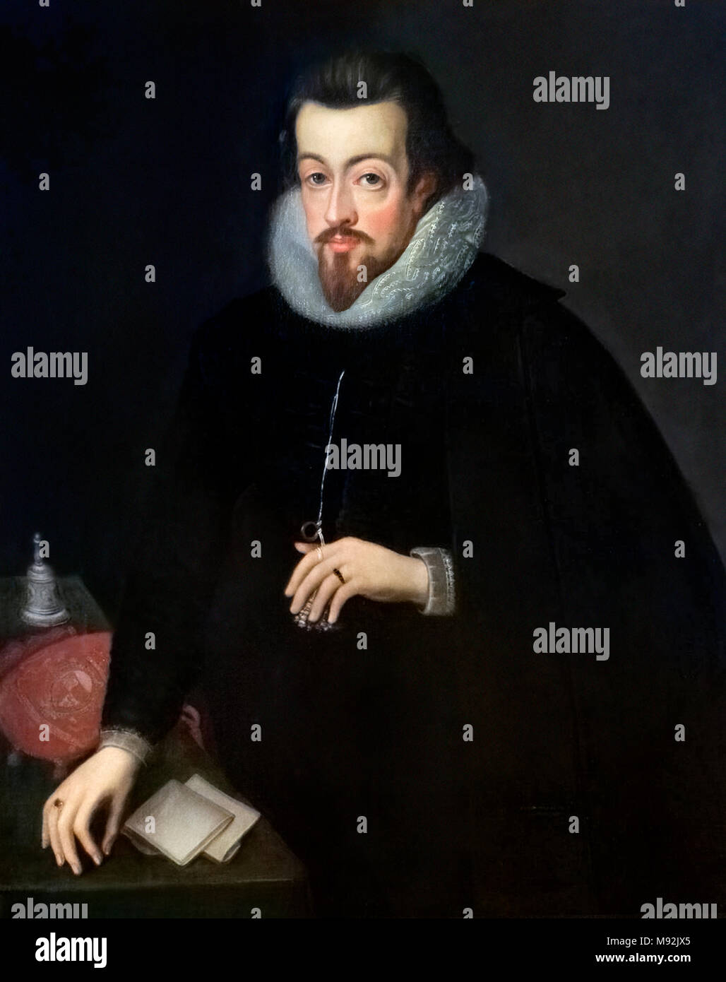 Robert Cecil, 1st Earl of Salisbury (1563-1612). - Stock Image