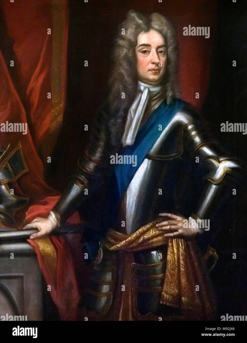 John Churchill, 1st Duke of Marlborough (1650–1722). - Stock Image