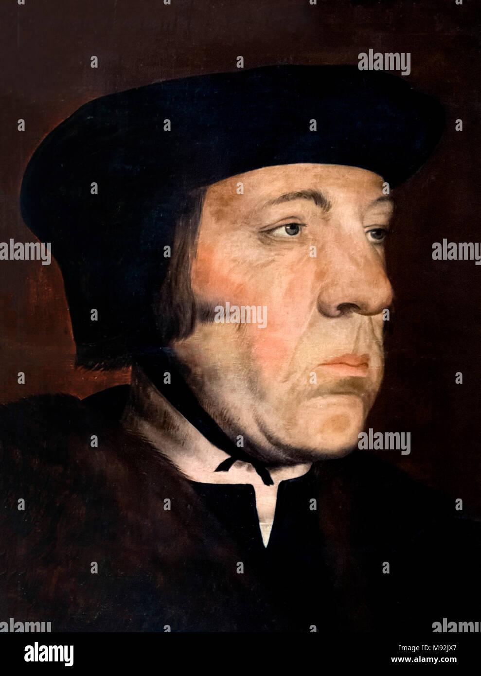 Sir Thomas More (1748-1535). - Stock Image