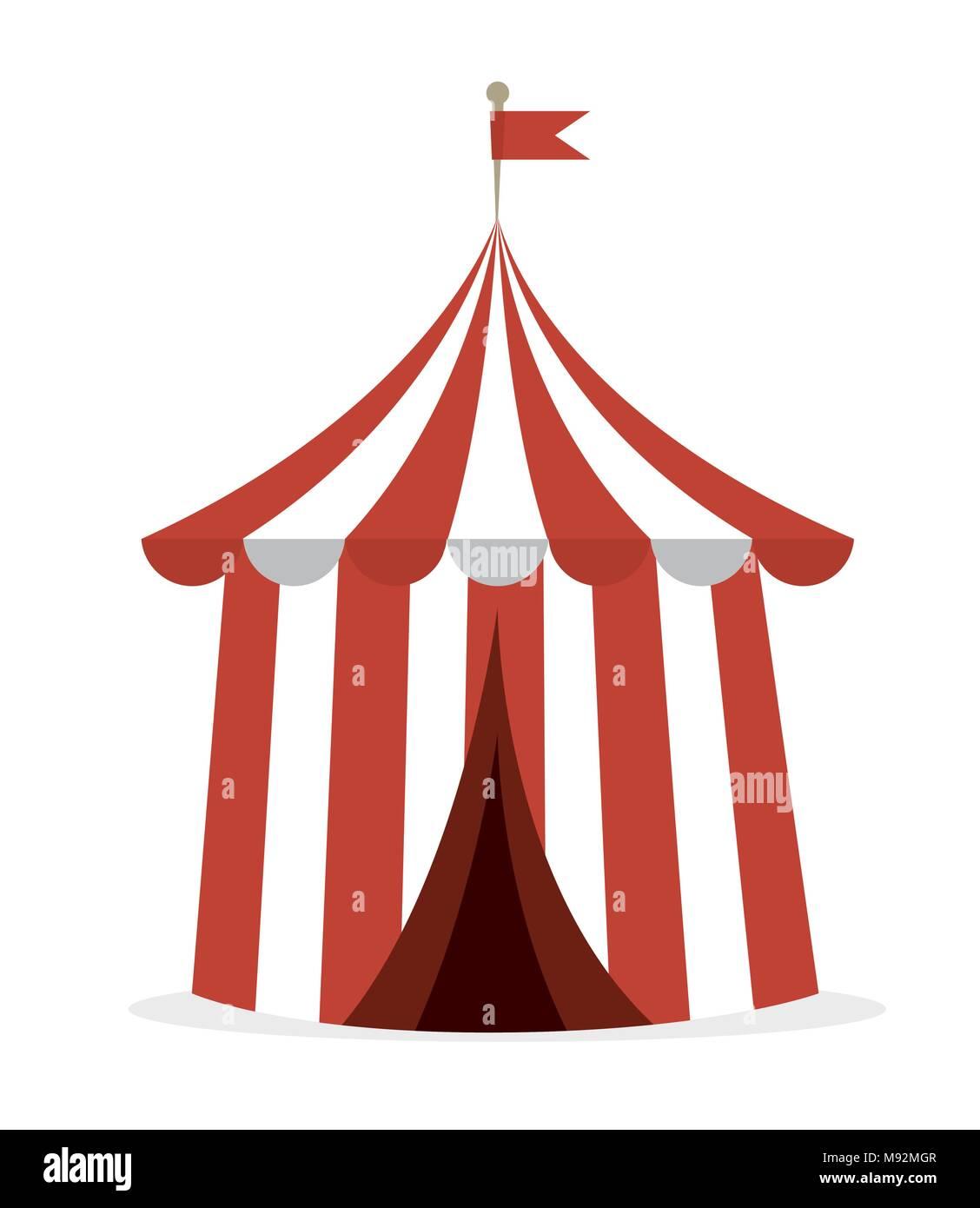 Circus carnival entertainment  - Stock Image