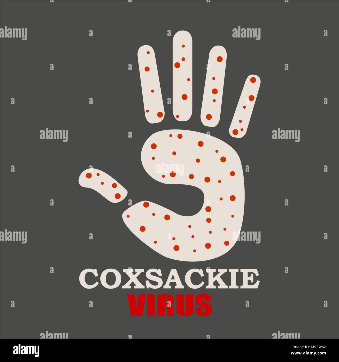 Virus disease relative background - Stock Image