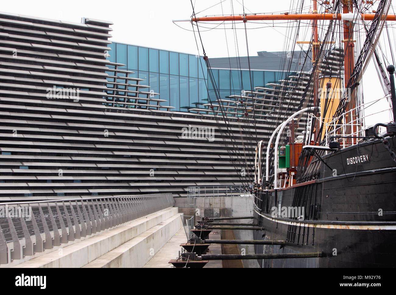 V&A Dundee, due to open on 15th September 2018, Stock Photo