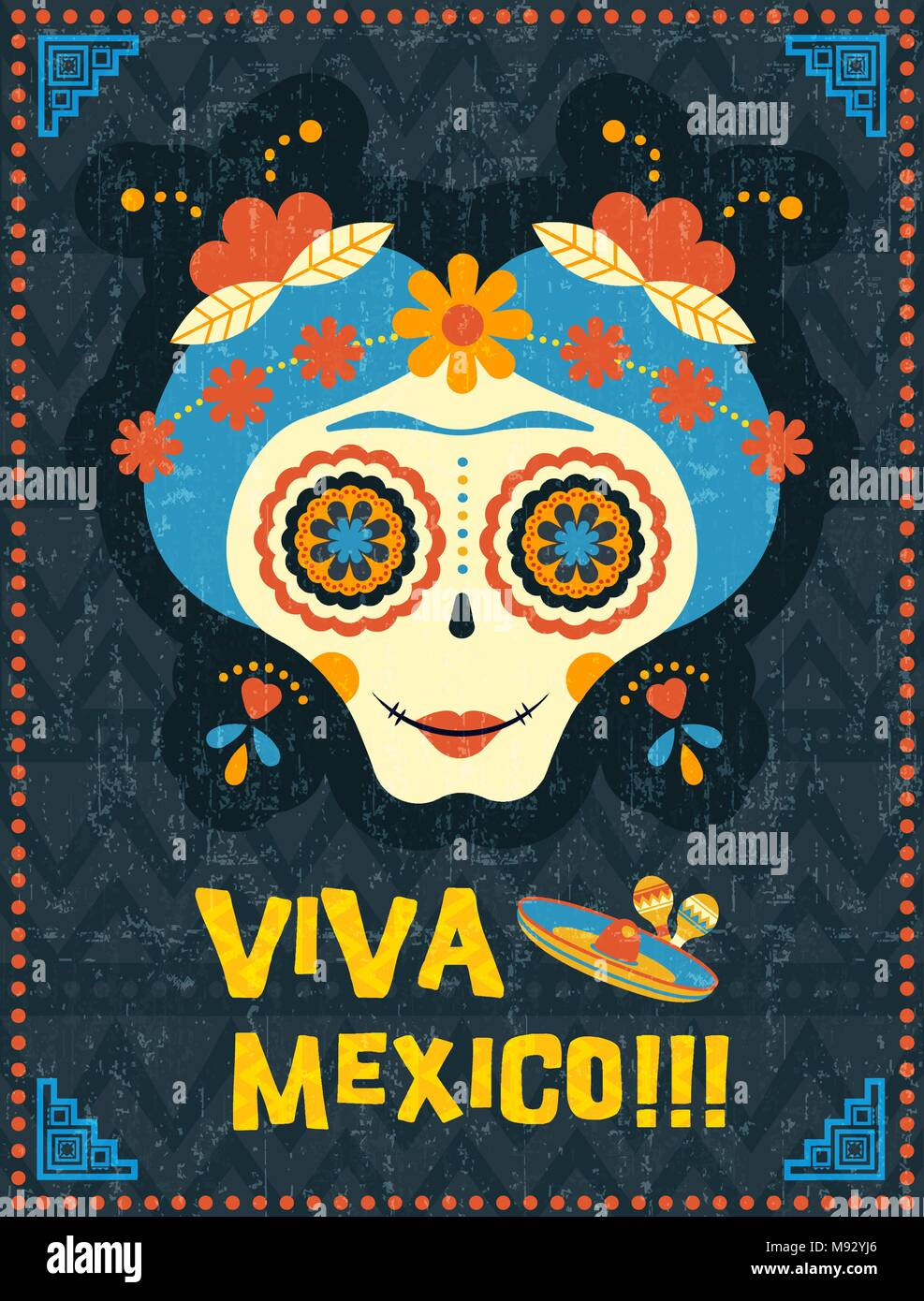 Cool Dia De Los Muertos Wall Art Pictures Inspiration - The Wall Art ...