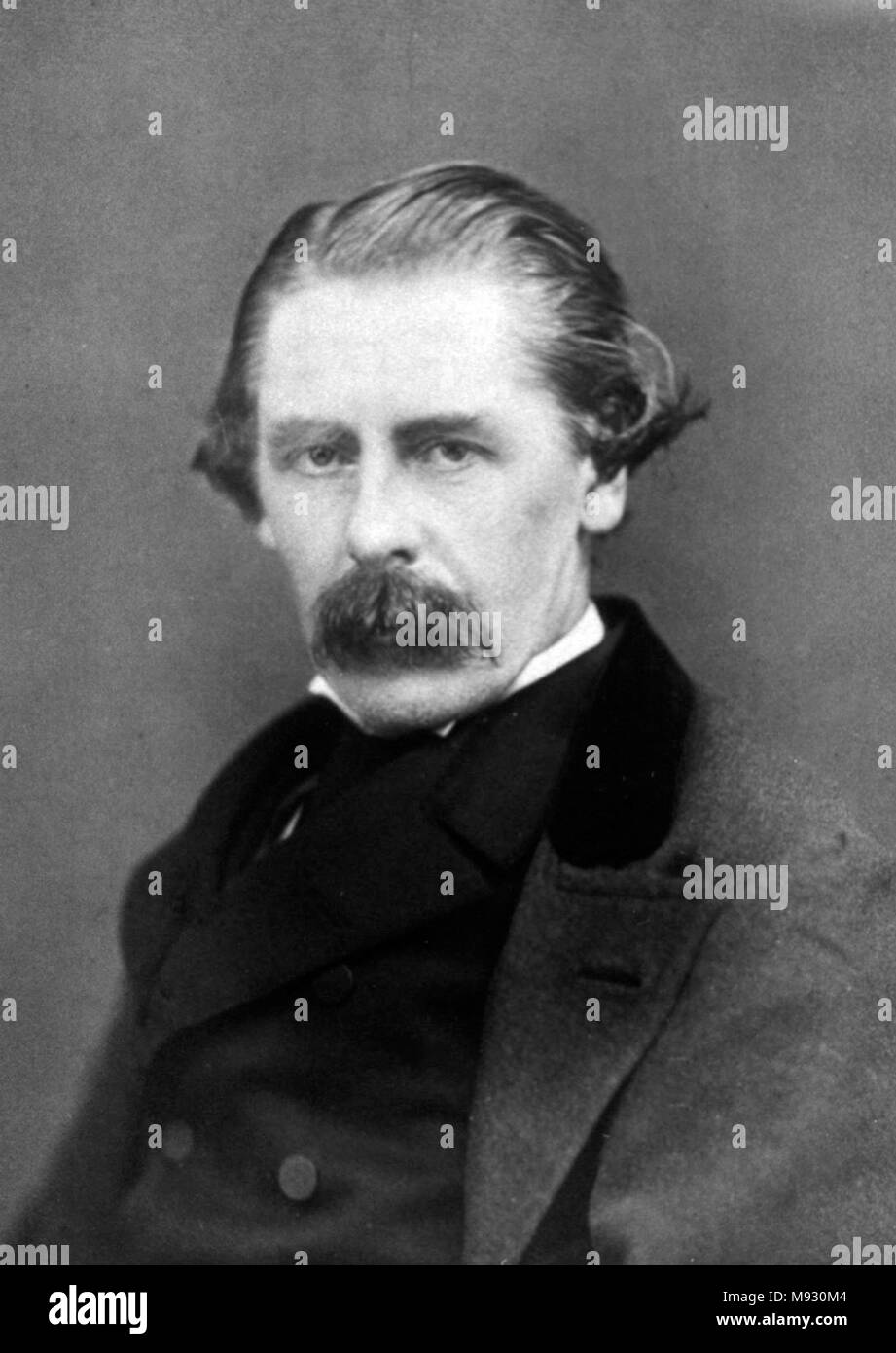 Sir Henry Thompson, 1st Baronet, (1820 – 1904) British surgeon and polymath - Stock Image