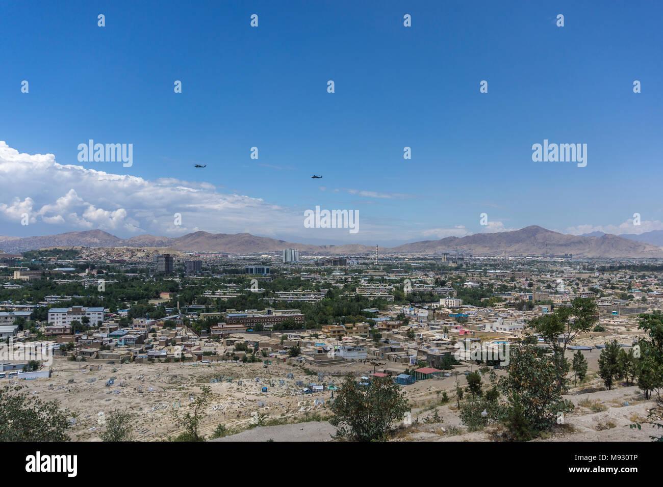 Kabul City, Afghanistan - Stock Image