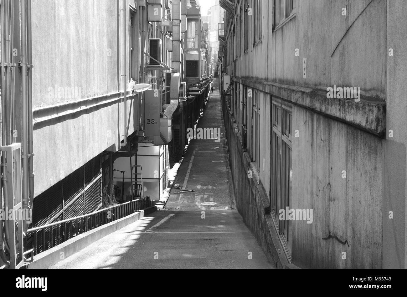 Yurakucho Ginza narrow alley in Tokyo Stock Photo