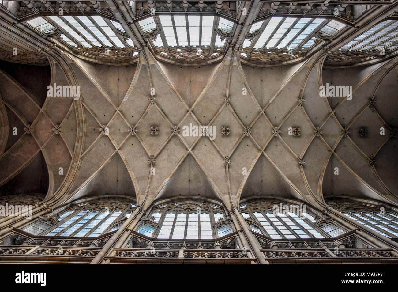 St. Vitus Cathedral, Prague Stock Photo