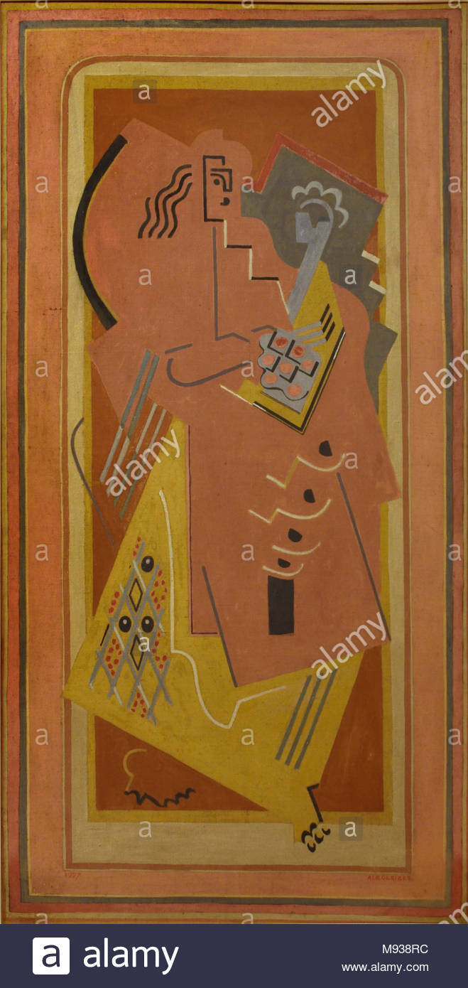 Woman and Child, 1927, Albert Gleizes, 1881-1953 , France, French, - Stock Image
