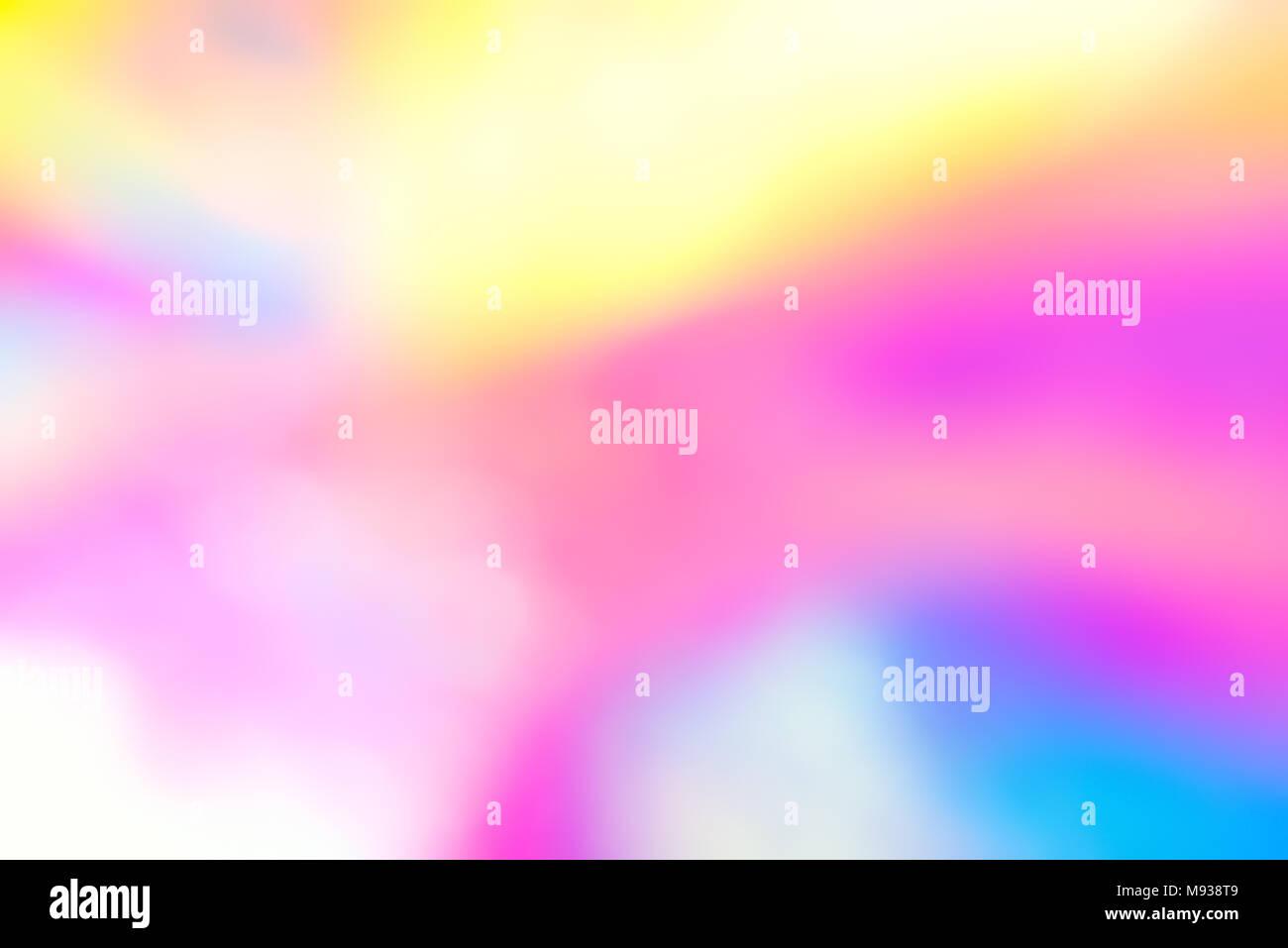 Holographic vibrant neon background. - Stock Image