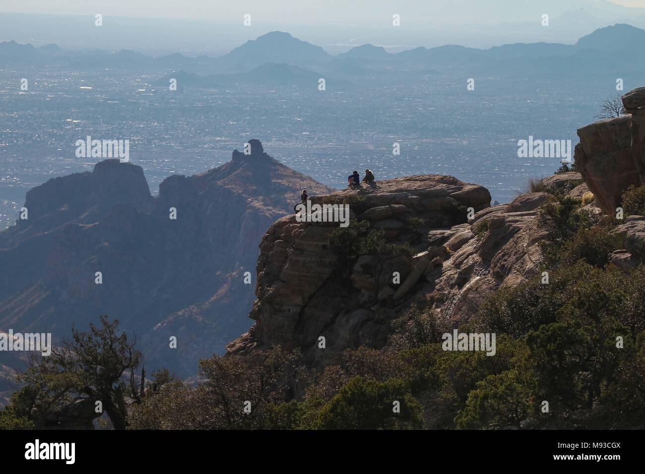 Mount Lemmon in Arizona Desert.  Mount Lemmon en Arizona.   ©NortePhoto - Stock Image