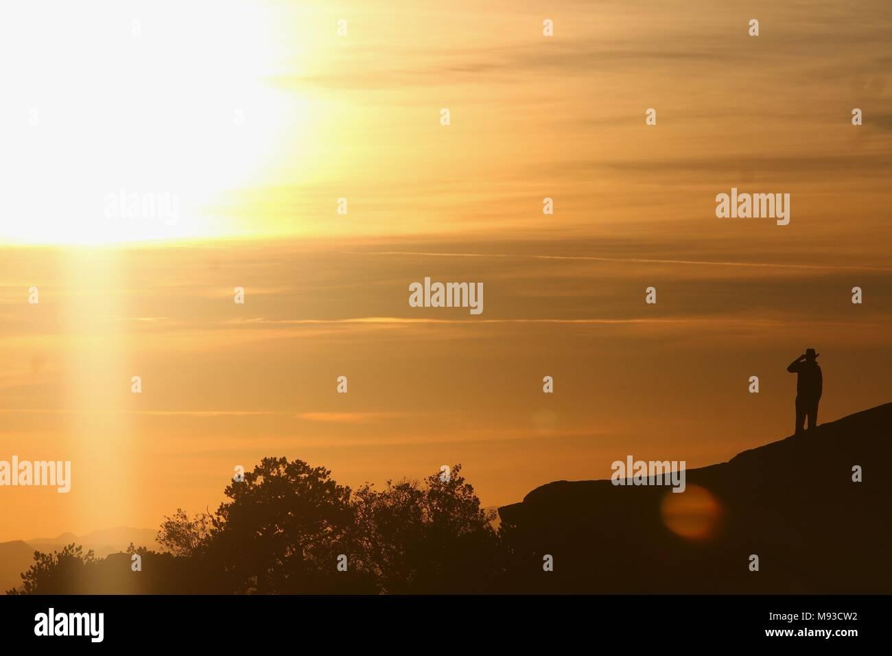Mount Lemmon en el Desierto de Arizona EU...*  (Luis Gutierrez/NortePhoto)** - Stock Image