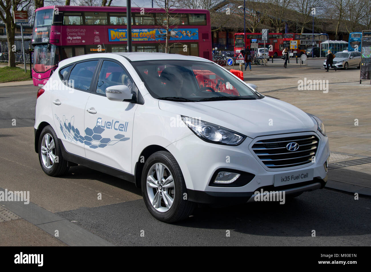 Hyundai ix35 Hydrogen Fuel Cell Vehicle, the world's first