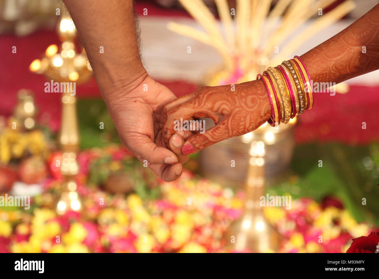 Hindu Marriage Ritual Stock Photos Hindu Marriage Ritual