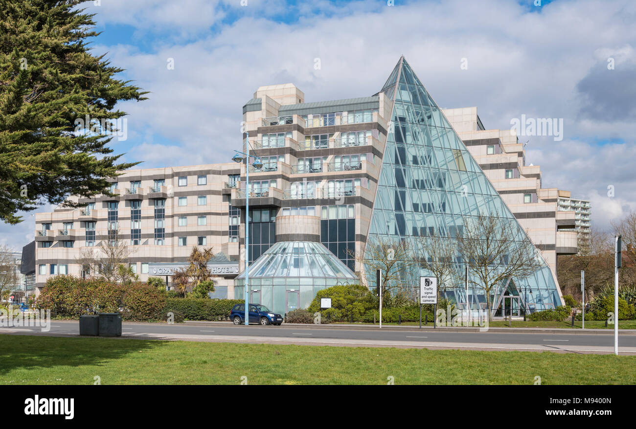 Grand Harbour Hotel, a luxury 4 star hotel in Southampton, Hampshire, England, UK. Stock Photo