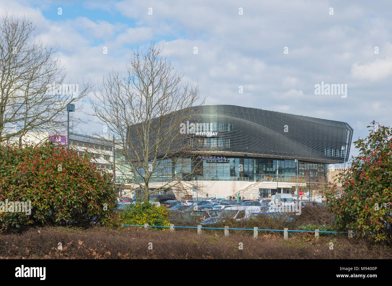 Westquay shopping centre in Southampton, Hampshire, England, UK. - Stock Image