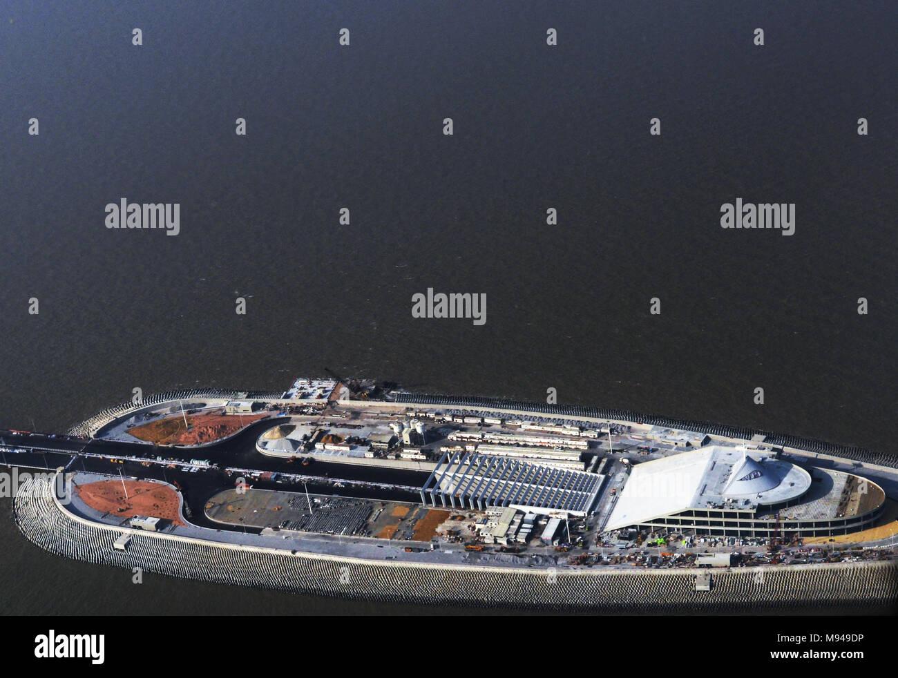 The HongKong-Zhuhai-Macao Bridge - Stock Image