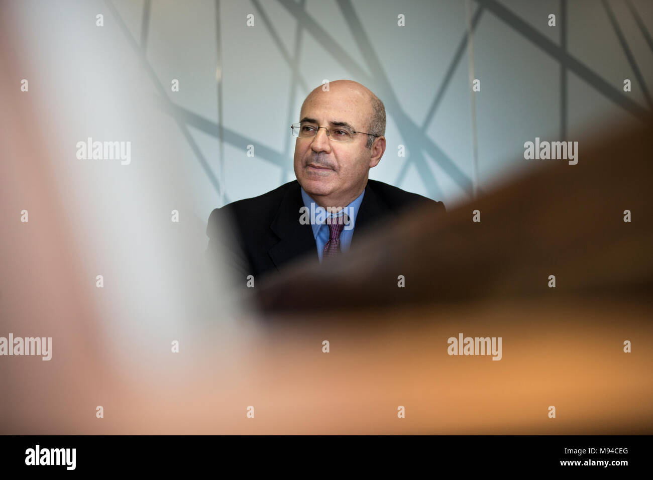 Activist Bill Browder. CEO and co-founder of Hermitage Capital Management, he has been one of Russia's most high-profile public enemies for may years. - Stock Image
