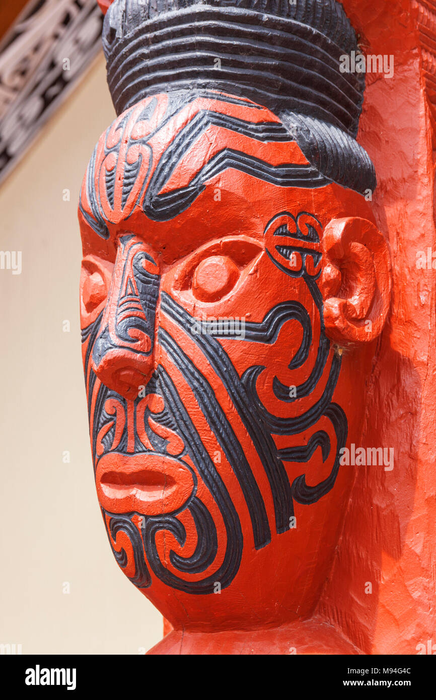 Maori tattoo face stock photos maori tattoo face stock images