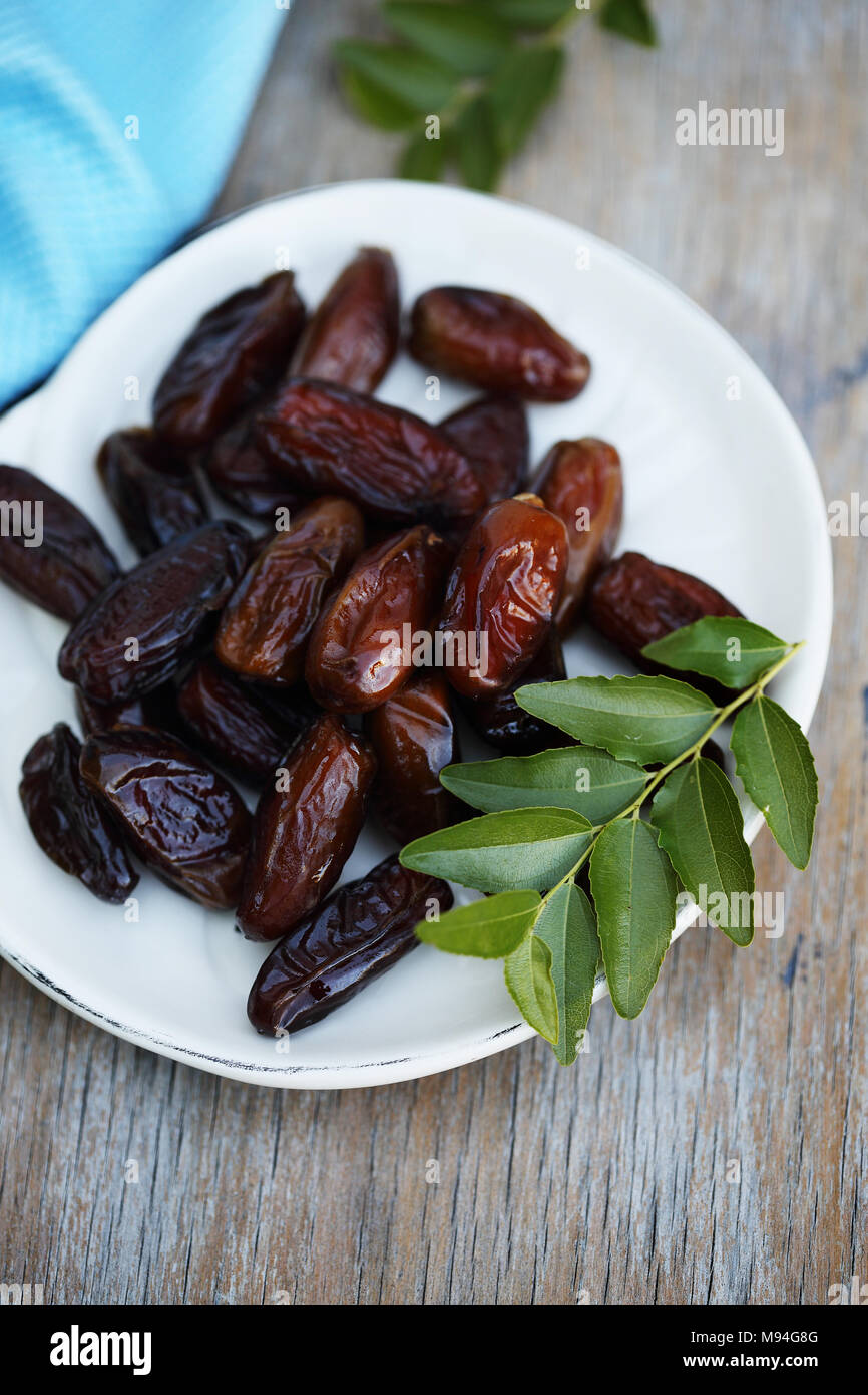 date exotic fruit - Stock Image