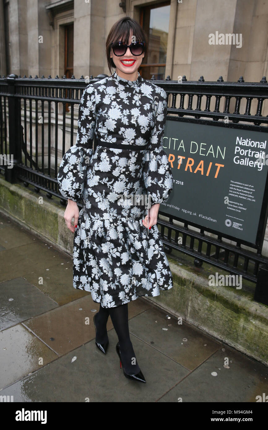 Daisy Lowe seen at the Erdem Moralioglu fashion show at National Portrait Gallery - London  Featuring: Daisy Lowe Where: London, United Kingdom When: 19 Feb 2018 Credit: WENN.com - Stock Image