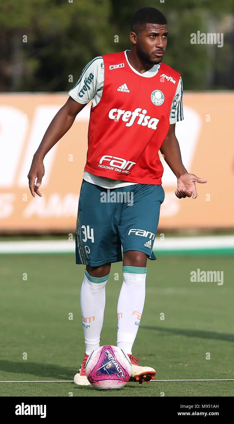 SÃO PAULO, SP - 22 03 2018: TREINO DO PALMEIRAS - Player