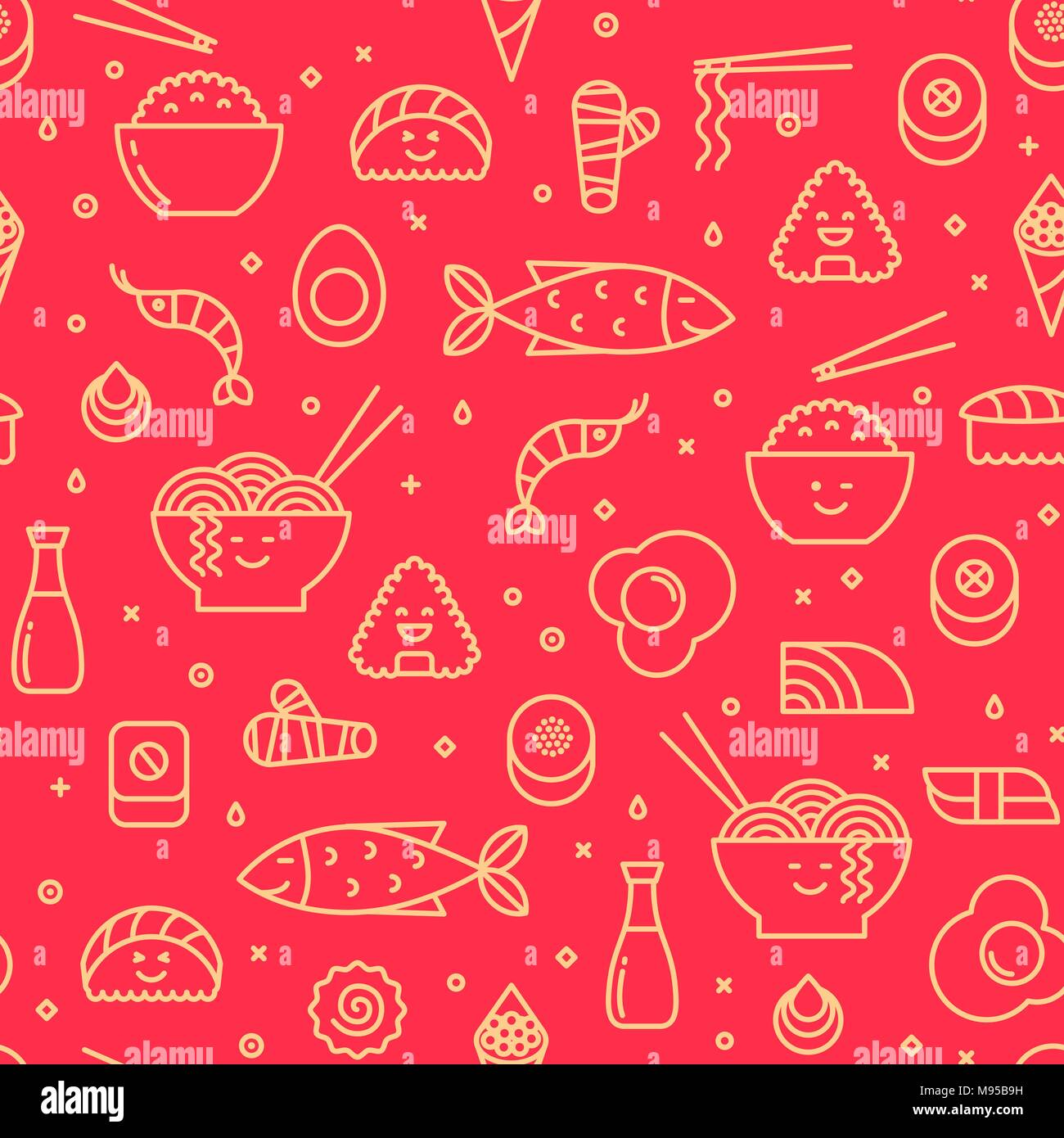 Japanese Pattern Print Stock Photos & Japanese Pattern Print Stock ...