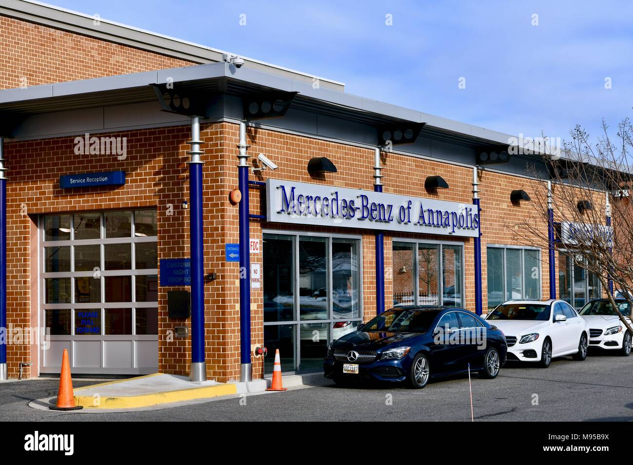 Car annapolis stock photos car annapolis stock images for Mercedes benz dealer in annapolis md