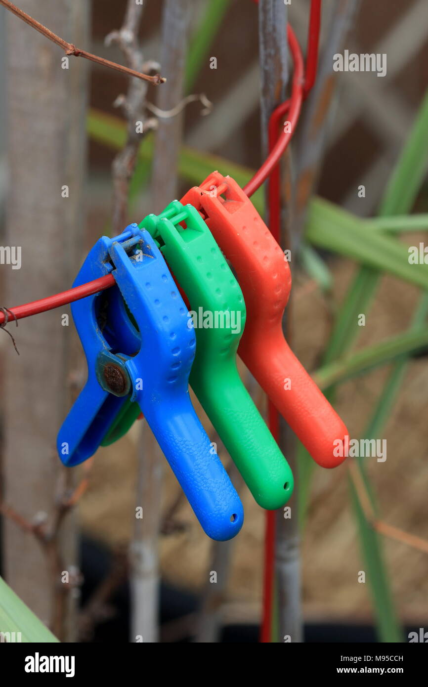 Wire Clamps Stock Photos Images Alamy Aircraft Wiring Harness Close Up Of Colourful On Metal Image