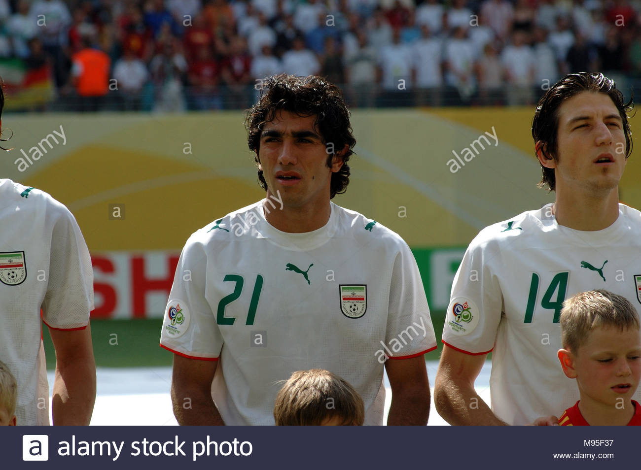 Leipzig Germany 21 June 2006 Fifa World Cup 2006 Group Stage Tie