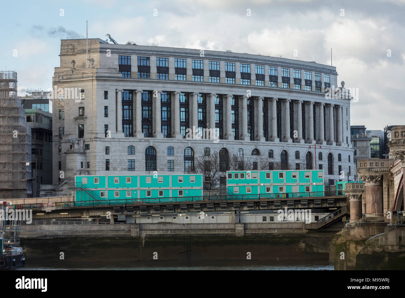 Unilever House in London - Stock Image