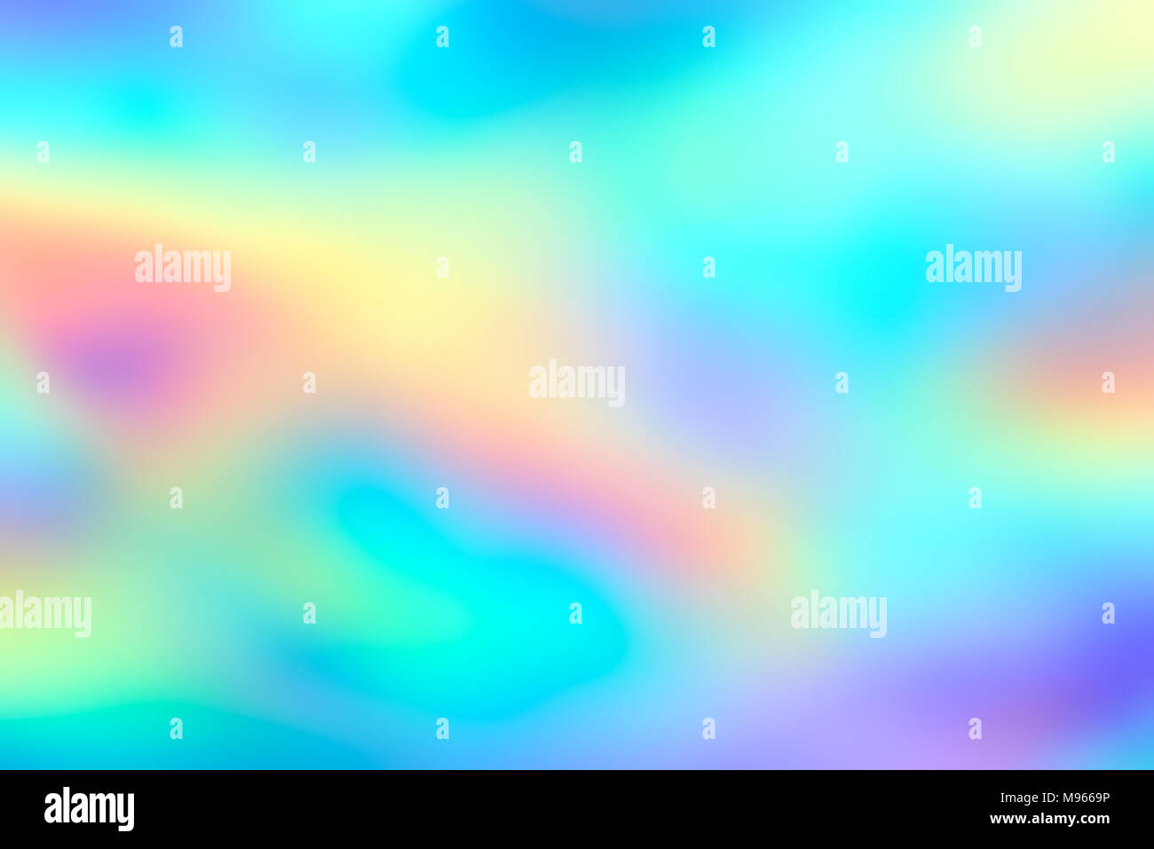 Blur holographic neon foil background. Abstract holographic background. Design template. - Stock Image