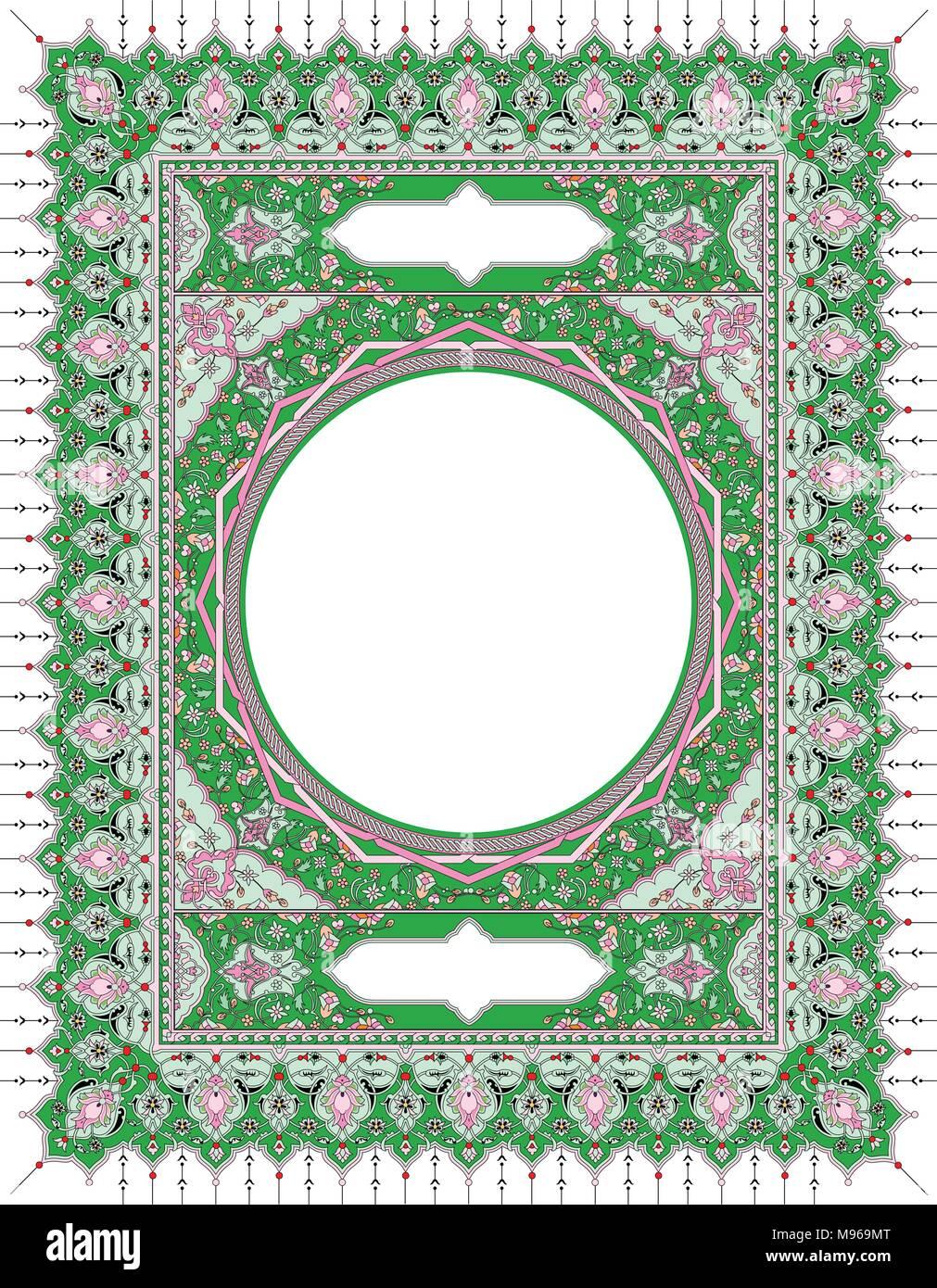 Border & Frames Islamic Art Stock Vector Art & Illustration, Vector ...