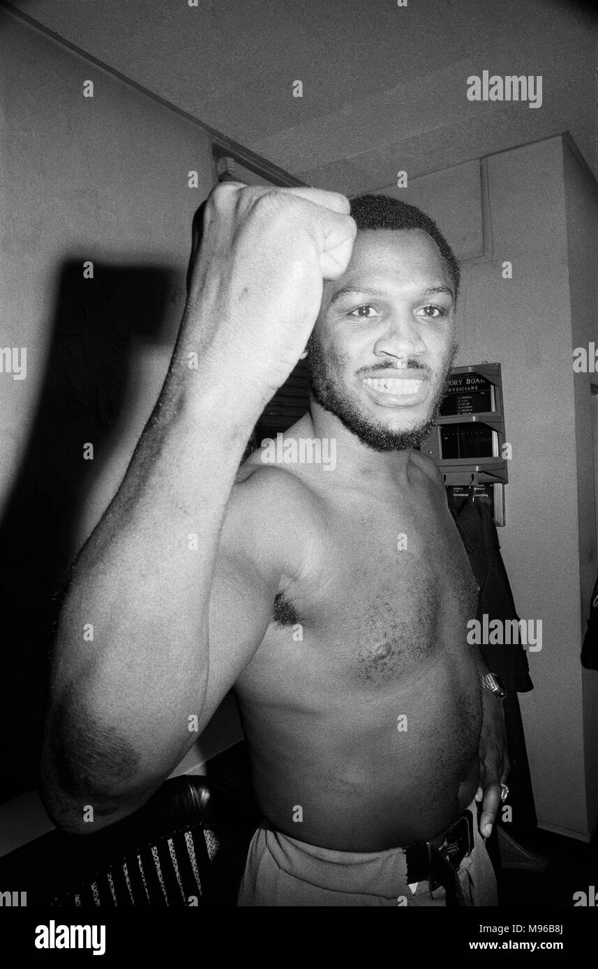Super Fight II was a non-title boxing match between Muhammad Ali and Joe Frazier. The second of the three Ali–Frazier bouts, it took place at Madison Square Garden in New York City on January 28, 1974. Ali was a slight favourite to win, and did by a unanimous decision. (Picture) Joe Frazier having a pre-fight medical for 'Super Fight II.' 24th January 1974 - Stock Image